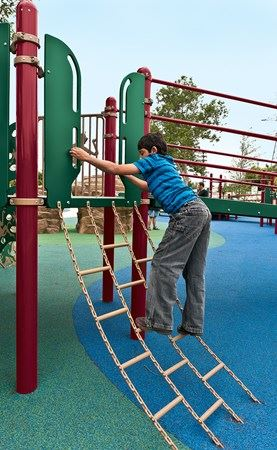 chain ladder with kids